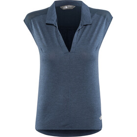 The North Face Inlux Triathlon Tri Top Dames, blue wing teal dark heather